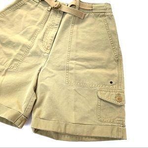 🌸🌵🌼Ralph Lauren | VTG Khaki Cargo Shorts 4P